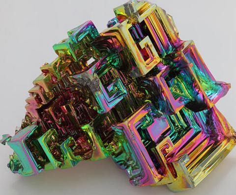 cristal bismuto iridiscente triplenlace.com