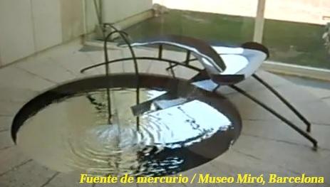 fuente de mercurio museo miro barcelona triplenlace.com