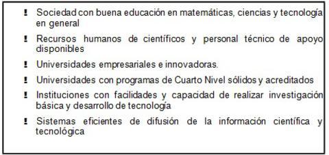 ciencia tecnologia bolivia cuadro 1 -triplenlace.com