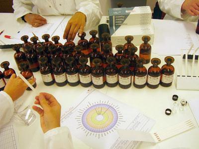 quimica de los perfumes